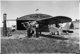 [Airplane at Valley Flying Service]